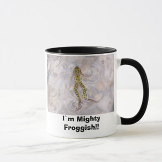 Caneca Mim ` m Froggish poderoso!!