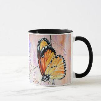 Caneca Monarca no primavera