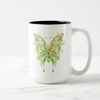 Caneca Mystical das borboletas