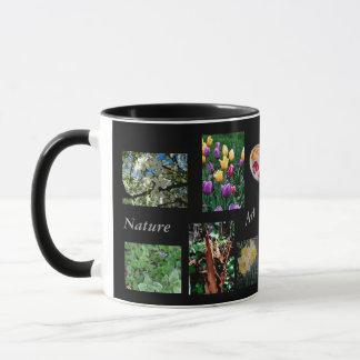 Caneca O artista dos artesanatos da arte da natureza
