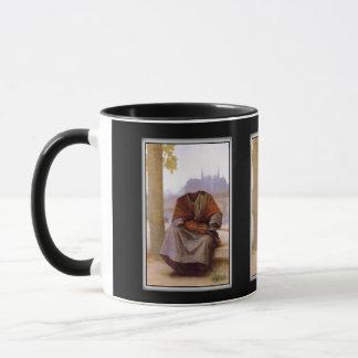Caneca O Bohemian invisível de Bouguereau