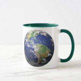 Caneca O efeito da terra 3D