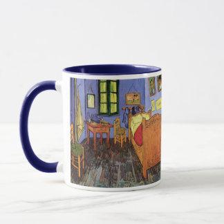 Caneca O quarto de Vincent em Arles por Vincent van Gogh