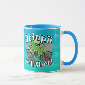 Caneca Octopii Wall Street - ocupe Wall Street!