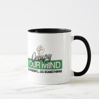 Caneca Ocupe sua mente