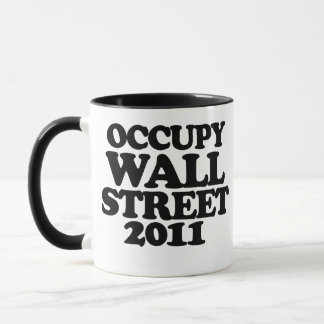 Caneca Ocupe Wall Street 2011