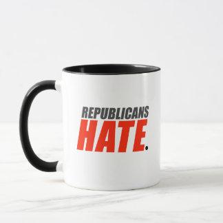 Caneca Ódio dos republicanos