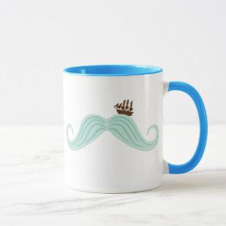 Caneca Ondas do Moustache