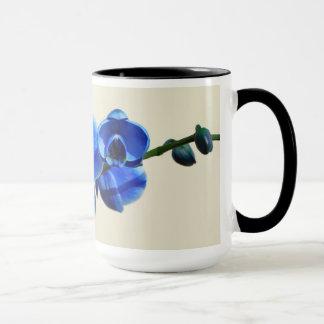 Caneca Orquídeas azuis