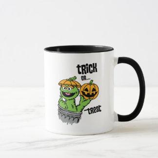 Caneca Oscar o Grouch - doçura ou travessura