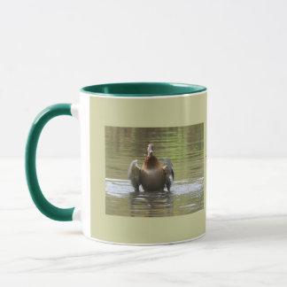 Caneca Pato selvagem de passeio da água