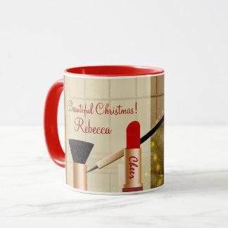 Caneca personalizada da composição Natal bonito