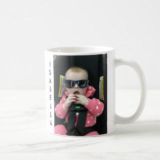 Caneca personalizada da foto do bebê & de café do