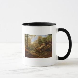 Caneca Pinhos & árvores de vidoeiro ou a floresta de