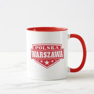 Caneca Polônia de Varsóvia - Varsóvia Polska