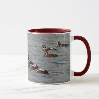 Caneca Porto holandês, Alaska:  Patos do Harlequin