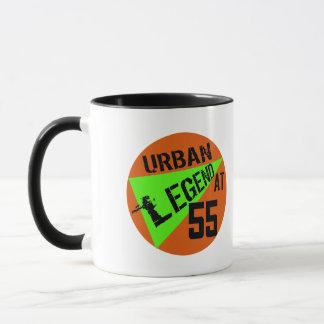Caneca Presentes de aniversário do urban legend 55th