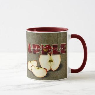 caneca primitiva da maçã