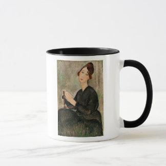 Caneca Retrato de Dedie Hayden, 1918
