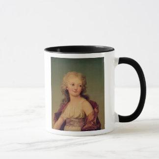 Caneca Retrato de Marie-Therese Charlotte de France