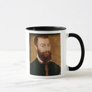 Caneca Retrato de um homem com uma barba