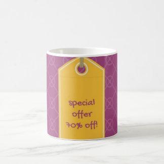 caneca roxa e amarela 70% da oferta especial fora