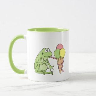 Caneca Sapo com gelado