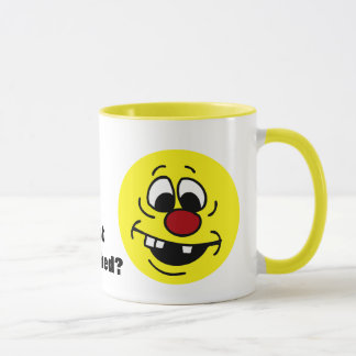 Caneca Smiley face pateta Grumpey