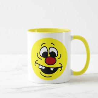 Caneca Smiley face pateta Grumpey