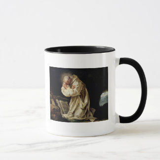 Caneca St. Bruno que Praying no deserto, 1763