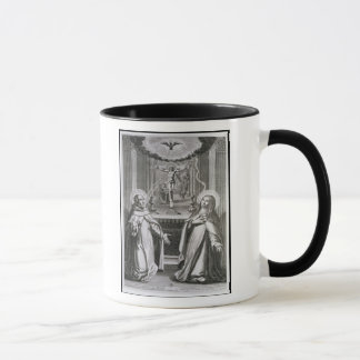 Caneca St John da cruz e do St Theresa de Avila