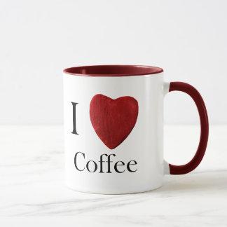Caneca Taça j de Coffee love