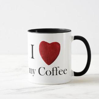 Caneca Taça j de Coffee love my