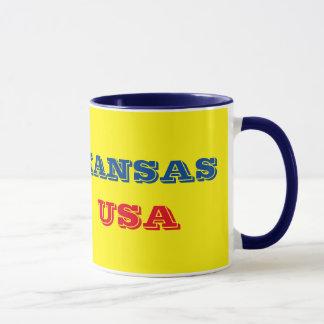 Caneca Tasse de drapeau du Kansas da bandeira de