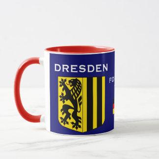 Caneca Tasse Dresden Allemagne de Dresden Alemanha