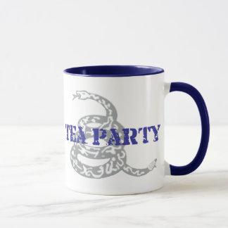 Caneca Tea party de Gadsden