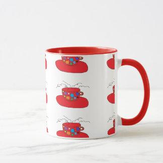 Caneca telhada das canecas do café ou do chá