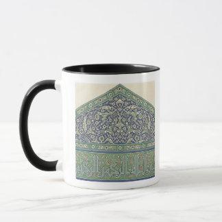 Caneca Telhe a decoração, catedral da mesquita de Qous,