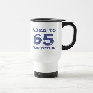 Caneca Térmica 65th Aniversário envelhecido à perfeição