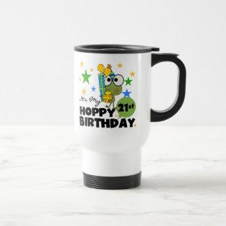 Caneca Térmica Aniversário de 21 anos Hoppy de Froggie