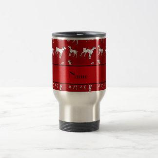 Caneca Térmica Cães dalmatian vermelhos conhecidos personalizados