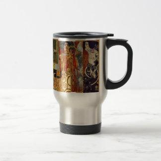 Caneca Térmica Colagem de Klimt