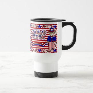Caneca Térmica Deus abençoe América