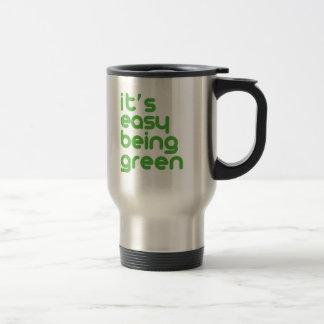 Caneca Térmica É ser fácil verde