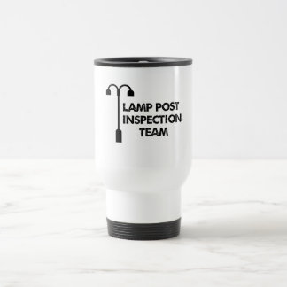 Caneca Térmica Equipe de inspeção do cargo da lâmpada