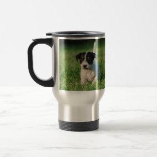 Caneca Térmica Filhote de cachorro de Jack Russell Terrier