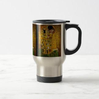 Caneca Térmica Gustavo Klimt - o beijo