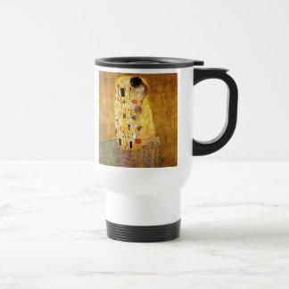 Caneca Térmica Gustavo Klimt o clássico do beijo