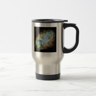 Caneca Térmica Nebulosa de M1-Crab uma ideia do presente da