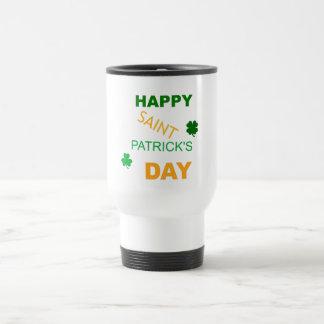 Caneca Térmica O dia feliz de Patrick de santo